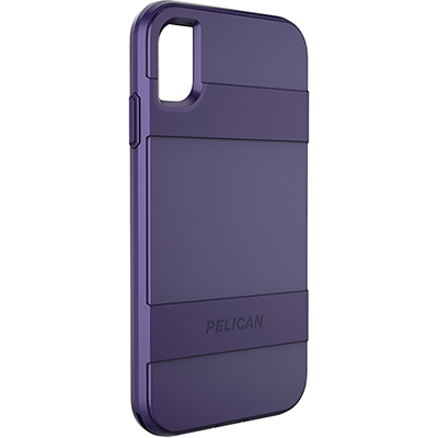 pelican c43030 apple iphone voyager purple slim phone case