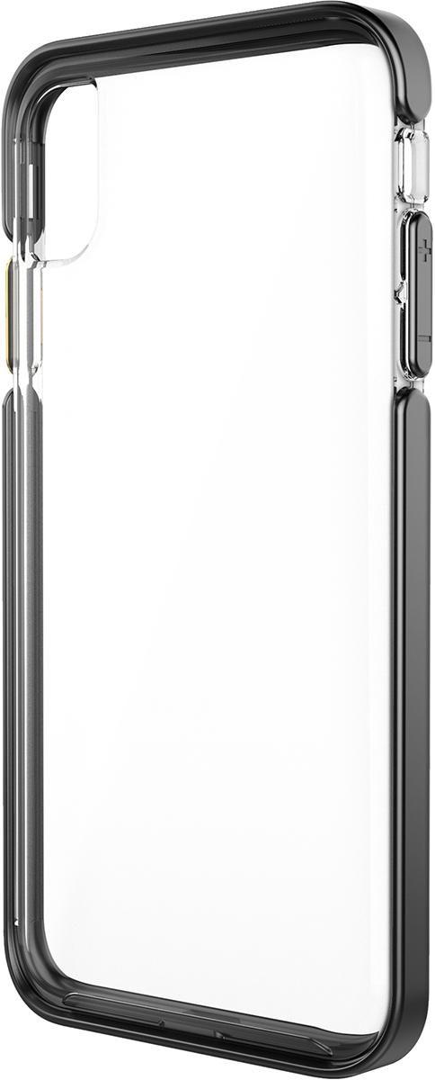 pelican apple iphone c43130 ambassador black gold clear phone case