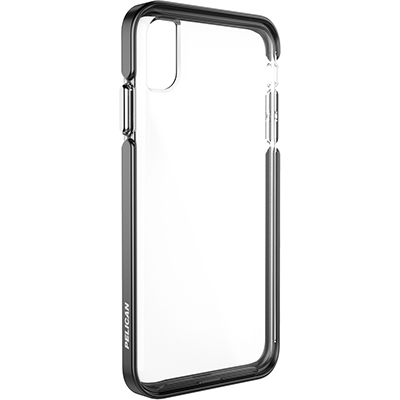 pelican c43130 apple iphone ambassador black silver clear phone case