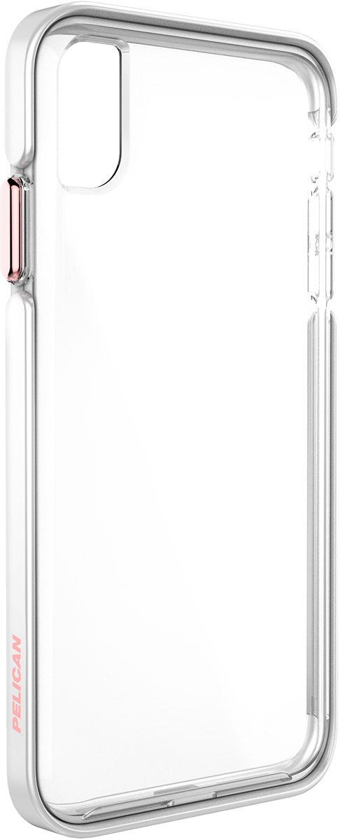 pelican apple iphone c43130 ambassador rose gold clear phone case