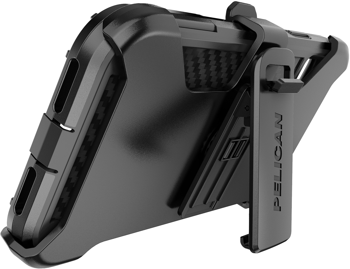 pelican apple iphone c43140 shield black phone case kickstand