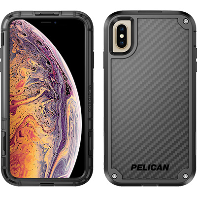 pelican c43140 apple iphone shield black phone case