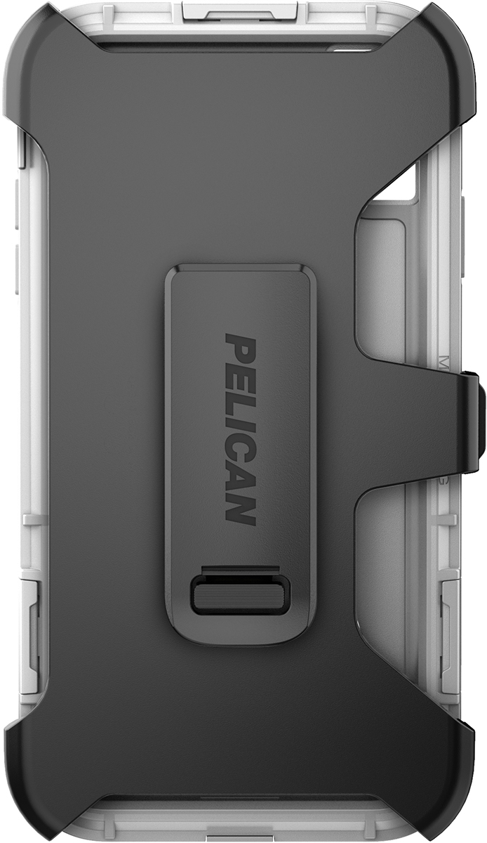 pelican apple iphone c43140 shield white phone case clip