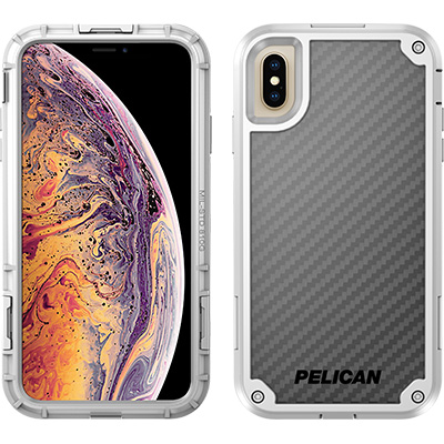 pelican c43140 apple iphone shield white phone case