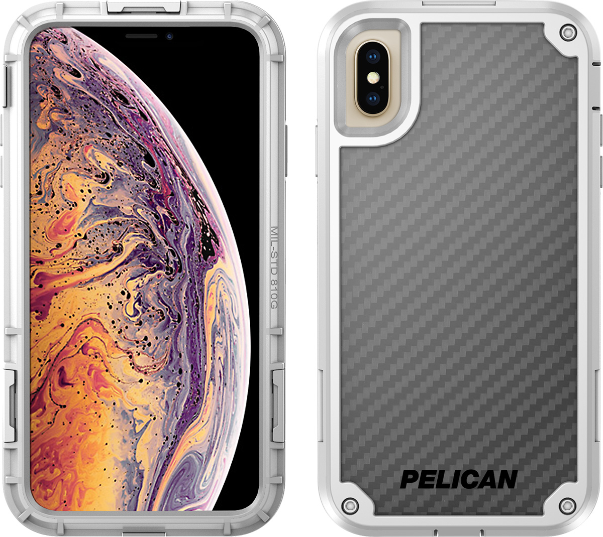 pelican apple iphone c43140 shield white phone case