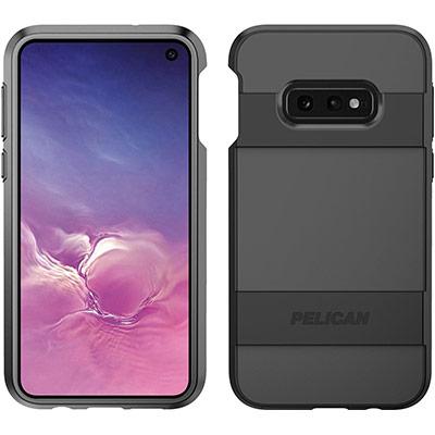 pelican c48030 samsung galaxy s10e black voyager phone case
