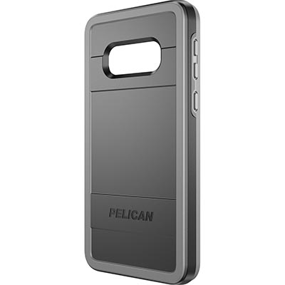 pelican c48150 samsung galaxy s10e black gray phone case