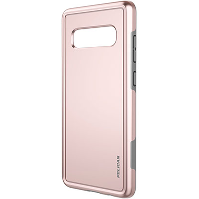 pelican c50100 galaxy s10 plus rose gold phone case