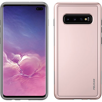 pelican c50100 samsung galaxy s10 plus pink phone case