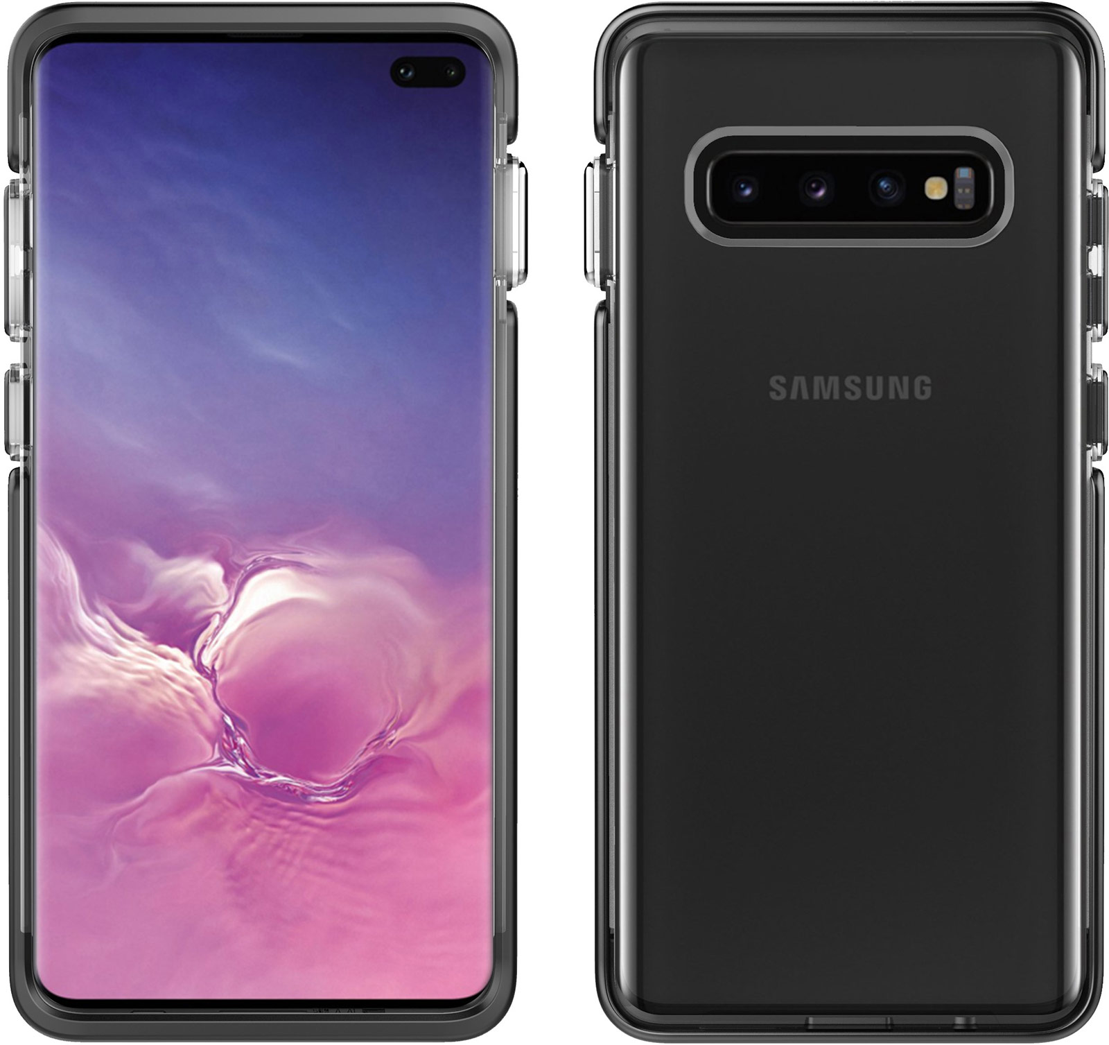 pelican c50130 samsung galaxy s10 plus ambassador black case