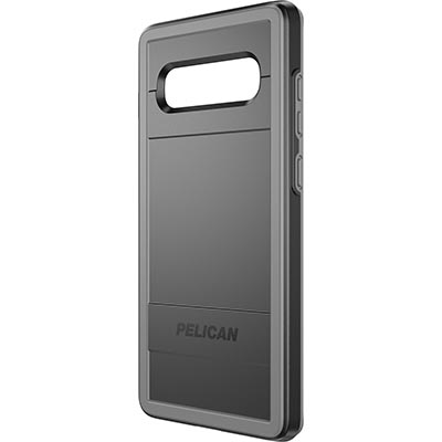 pelican c50150 samsung galaxy s10 plus black gray phone case