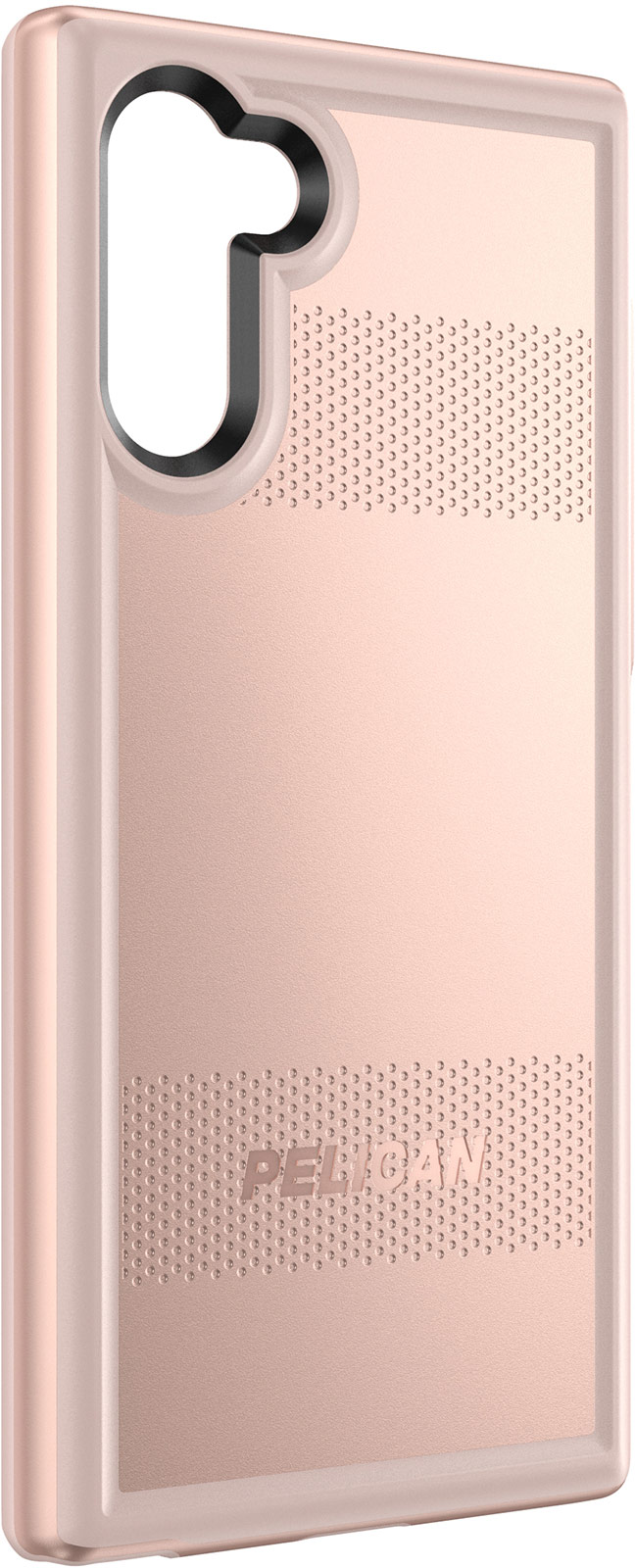 pelican note 10 protector phone case rose gold