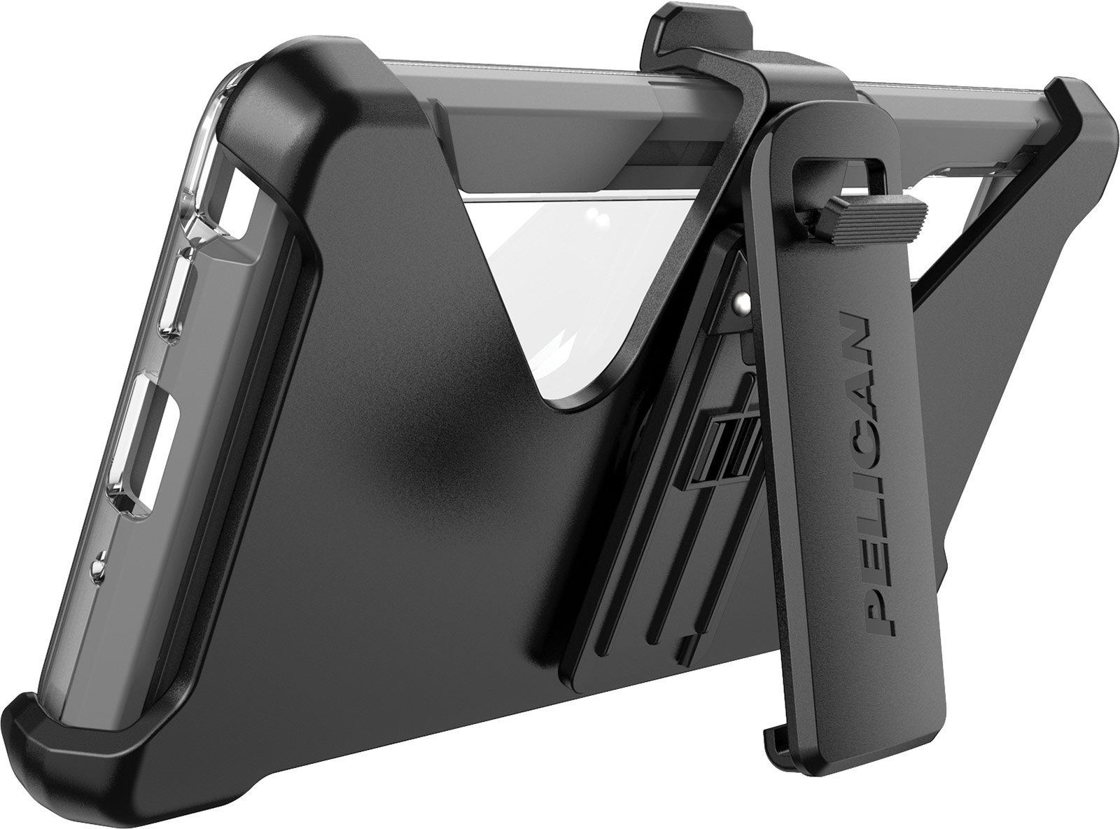pelican voyager samsung note 10 clear kick stand case