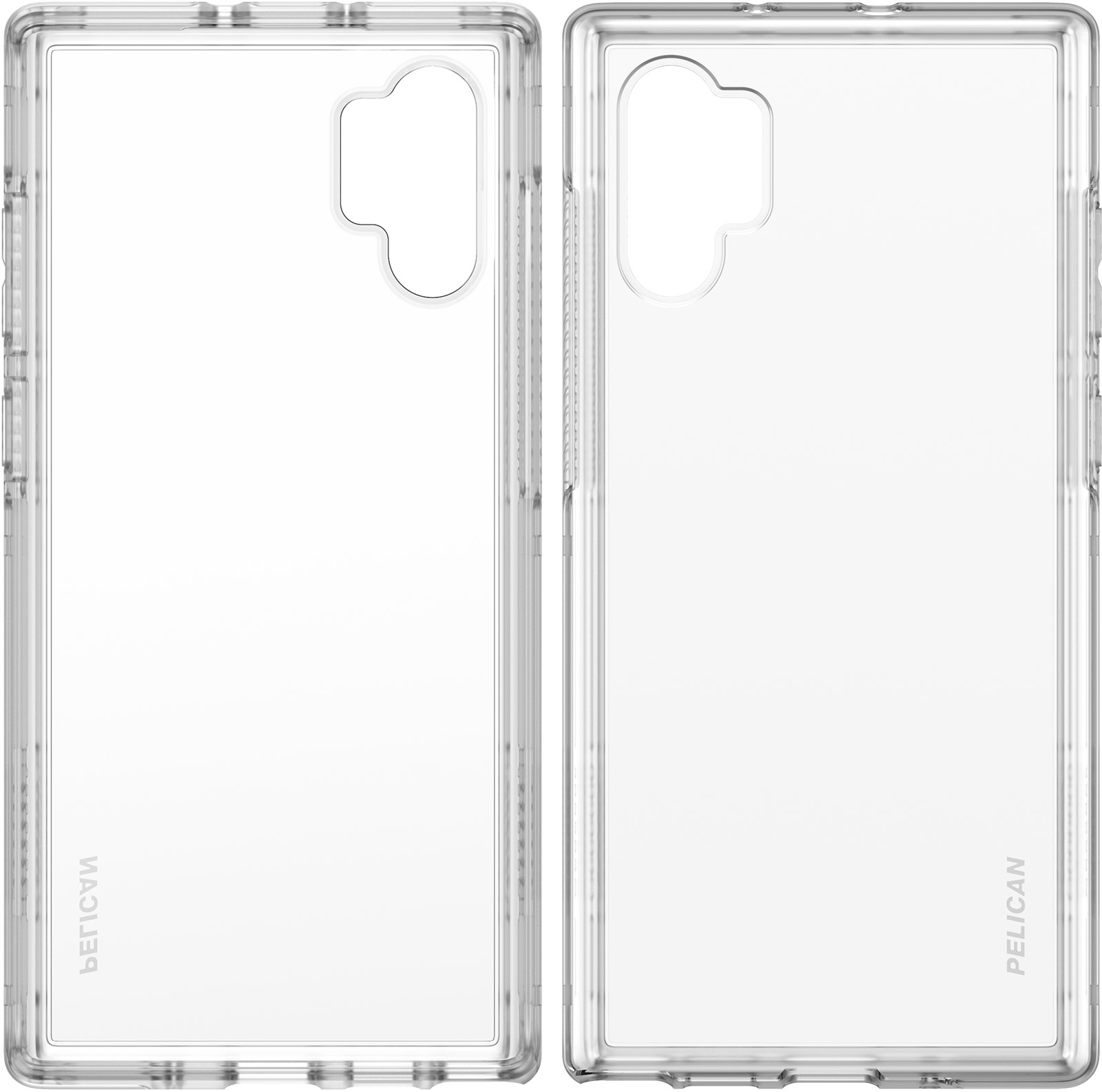 pelican samsung galaxy note10 plus clear phone case