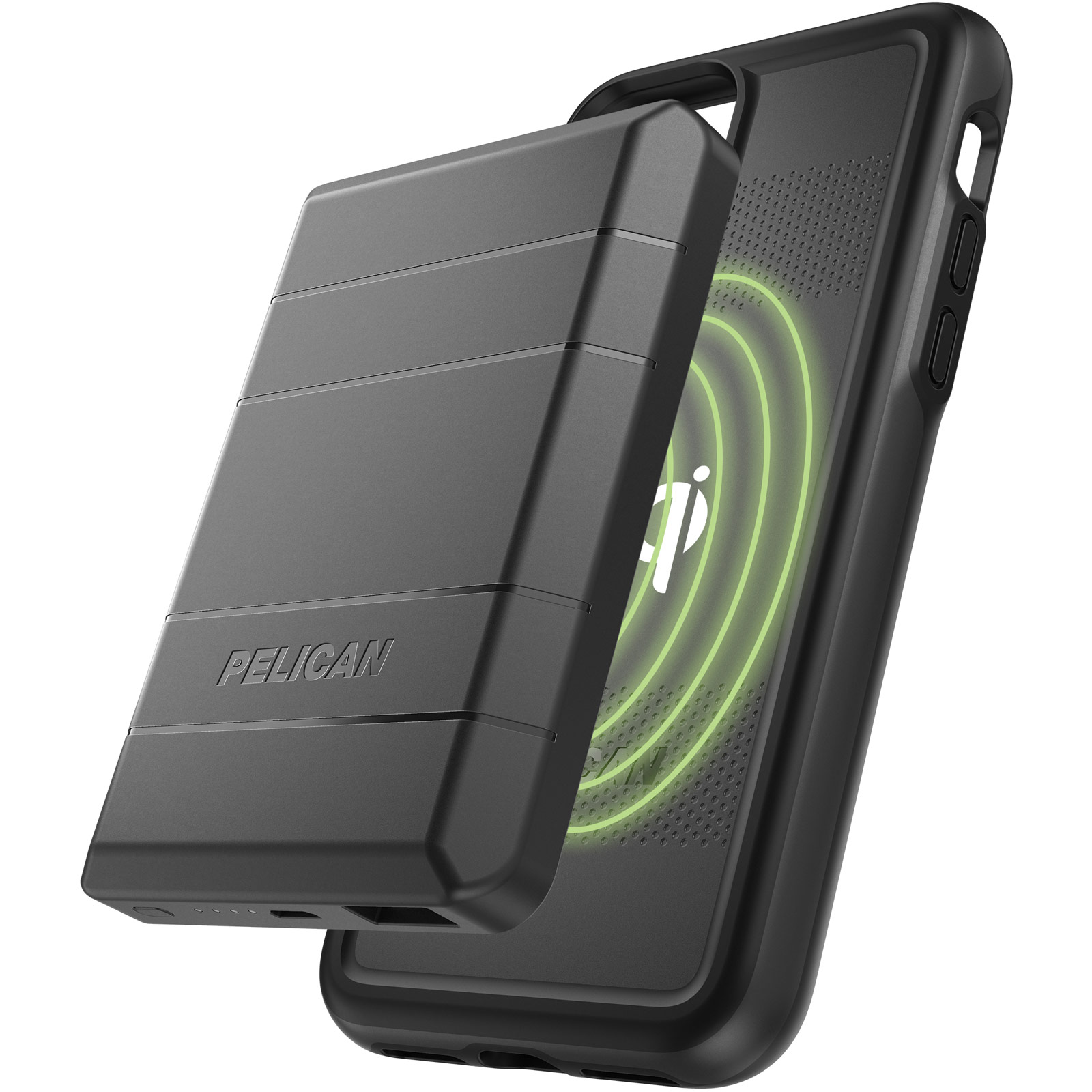 pelican c55220 iphone wireless charging battery case