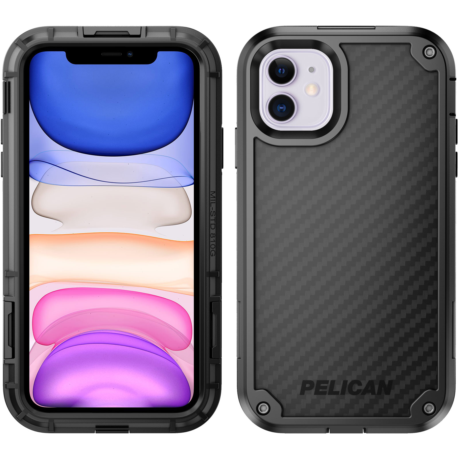 pelican 56140 black shield phone case