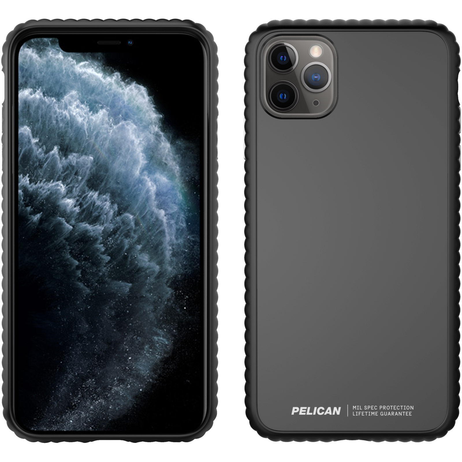pelican c57160 guardian iphone black case