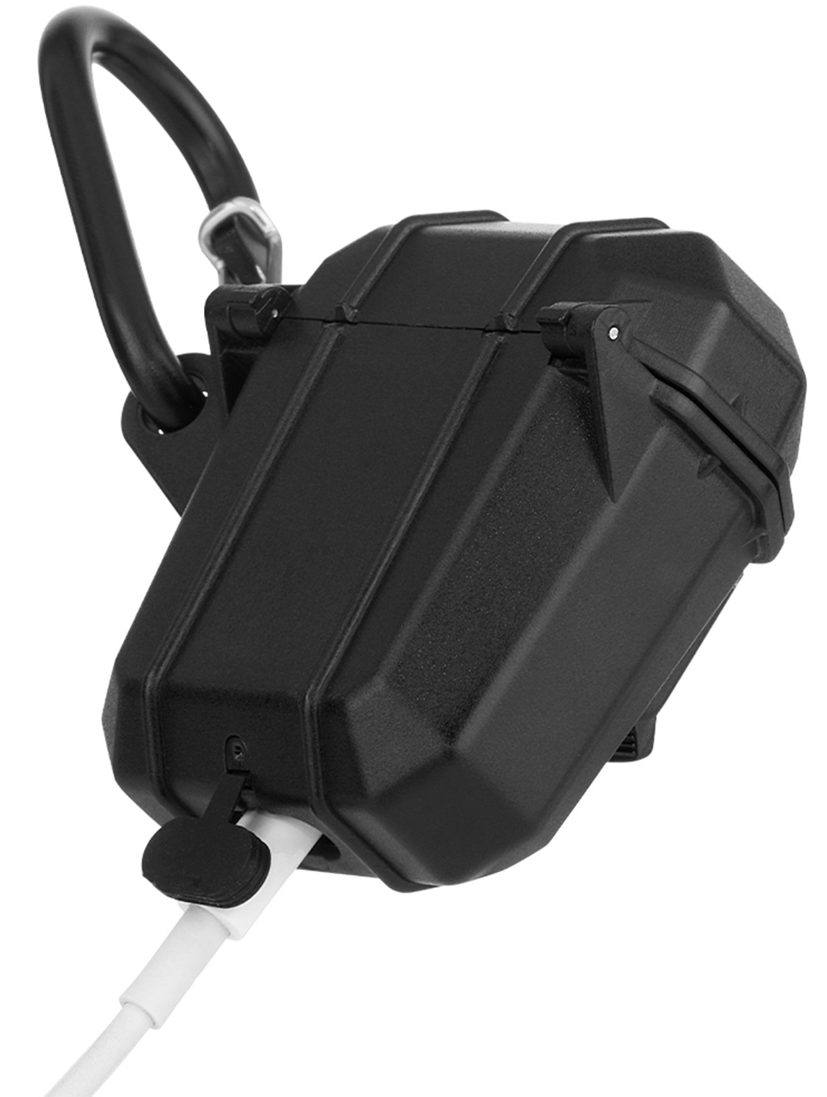 pelican pp043286 black marine airpods waterproof case