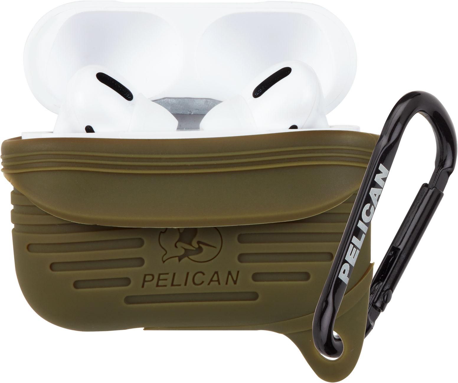 pelican apple airpod pro case green