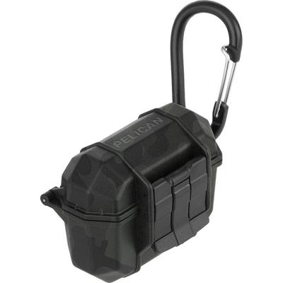 pelican pp043298 black marine airpod pro carabiner case