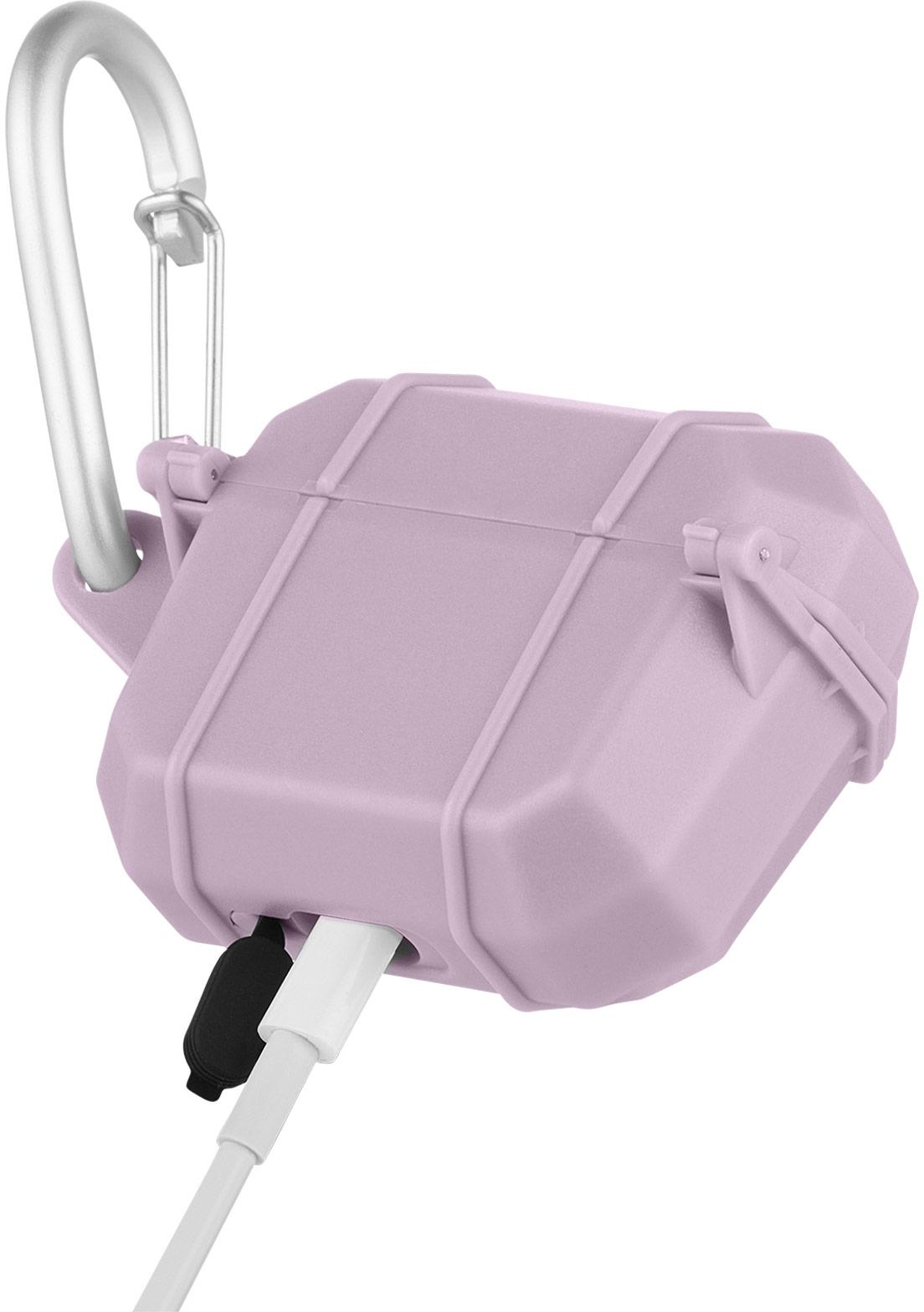 pelican pp043298 mauve marine airpod pro waterproof case