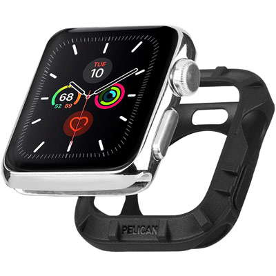 pelican pp043390 protector apple watch bumper black 38mm