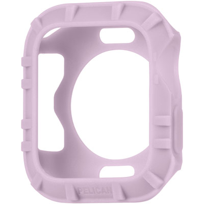pelican pp043390 protector apple watch rubber bumper mauve