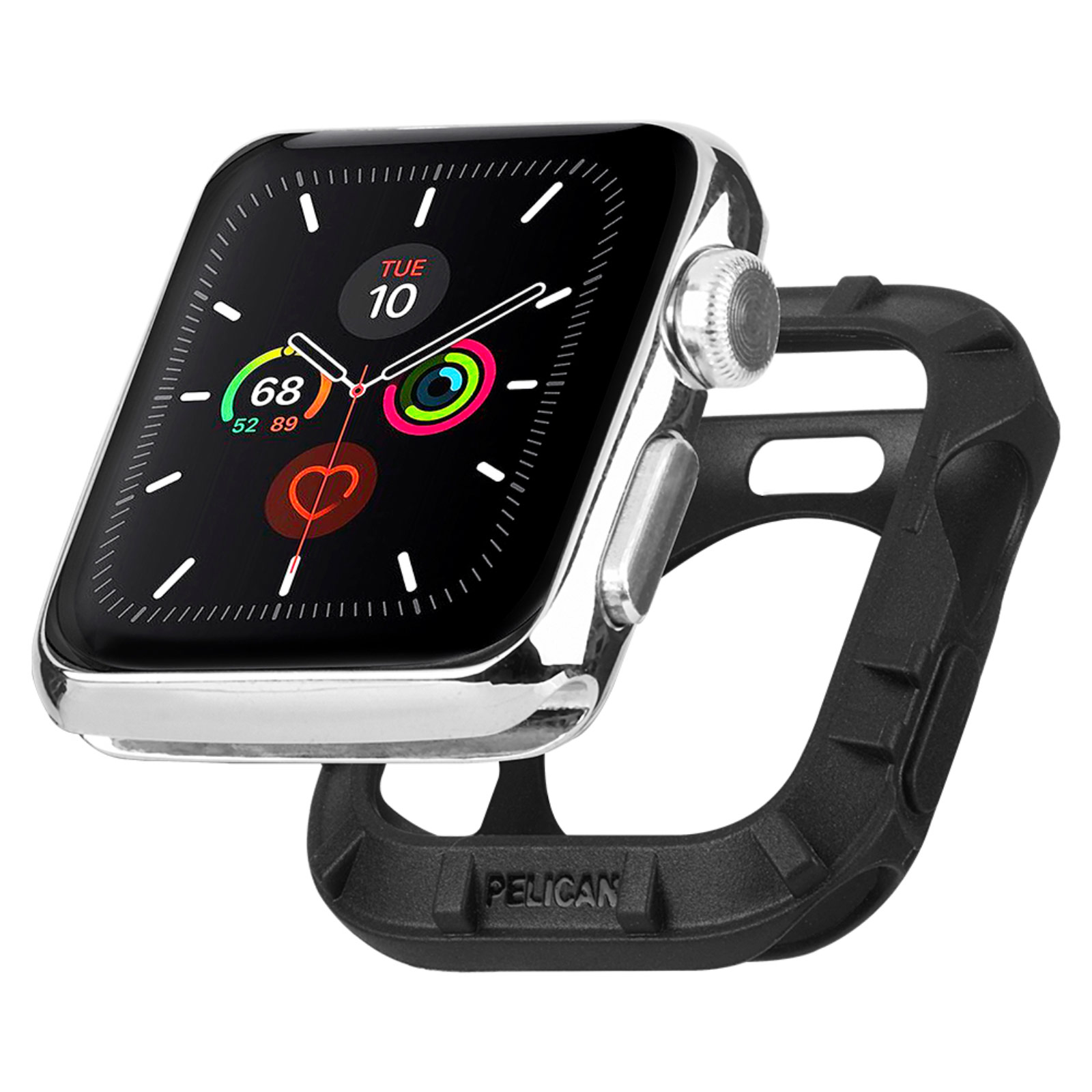 pelican pp043396 protector apple watch bumper black 42mm