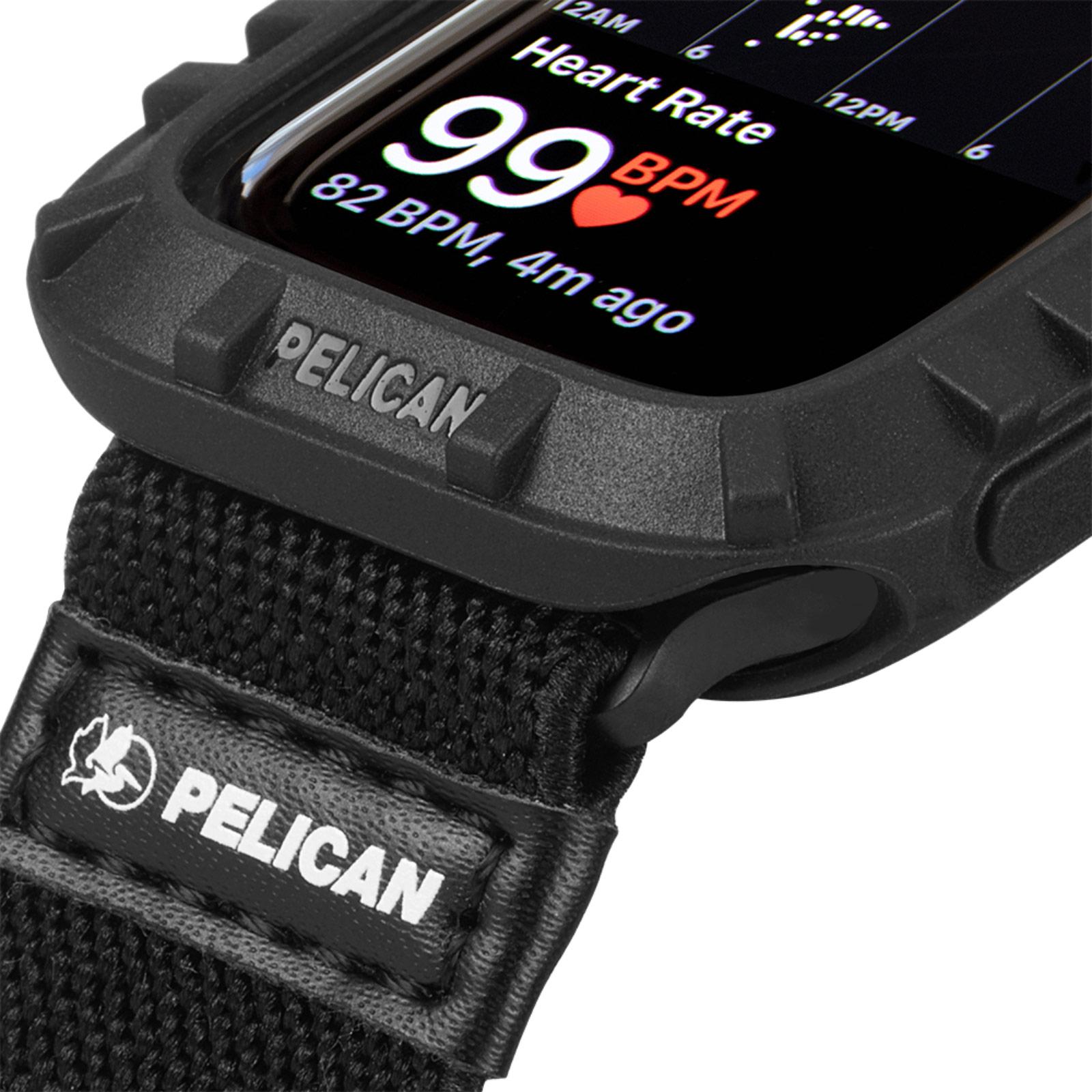 pelican pp043396 protector apple watch bumper black 44mm