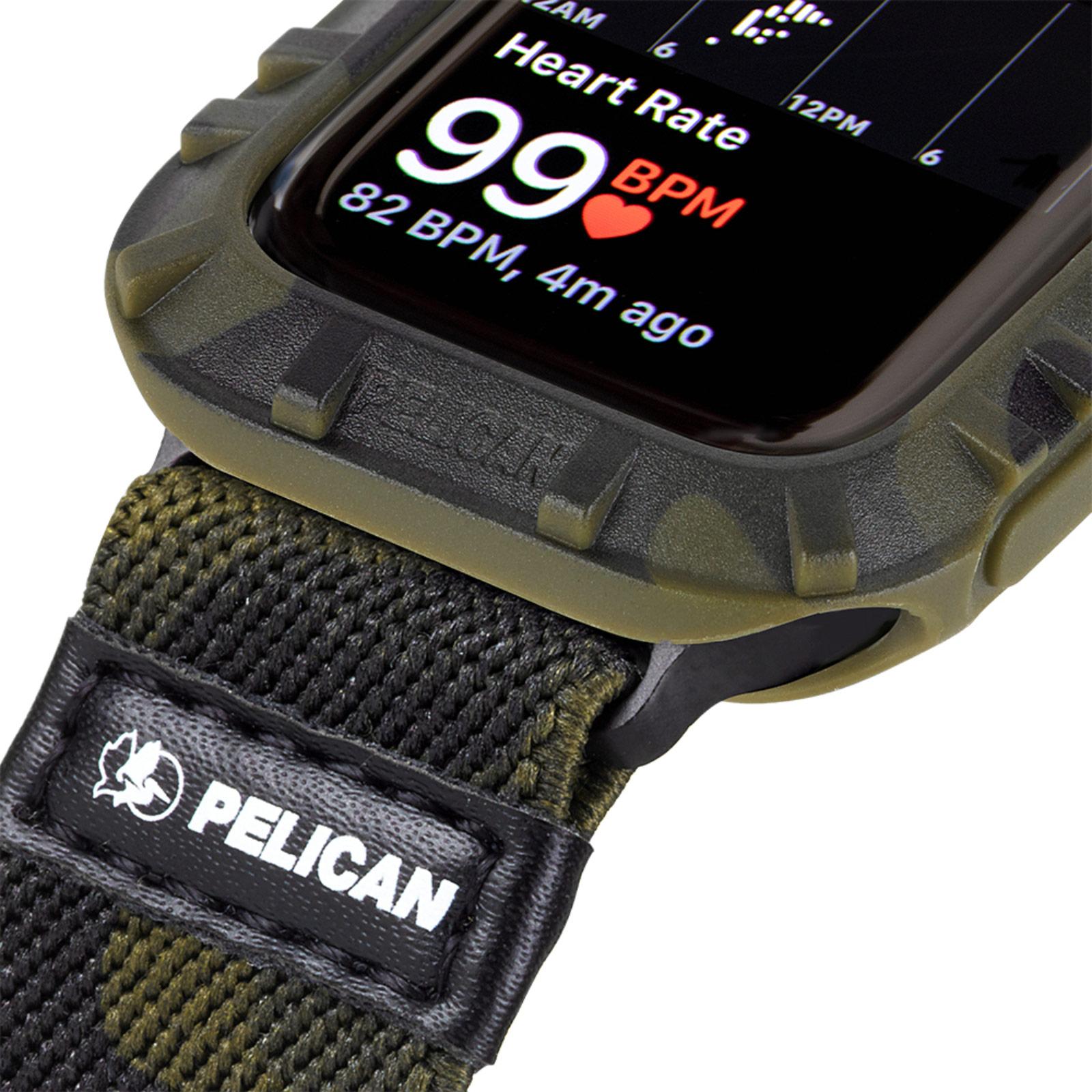 pelican pp043396 protector apple watch bumper camo 44mm