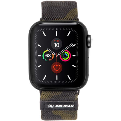 pelican pp043402 protector apple watch band strap 42mm camo
