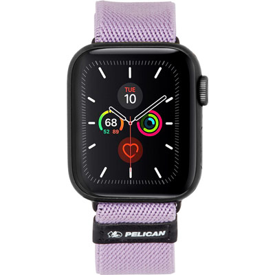pelican pp043402 protector apple watch band strap 42mm mauve