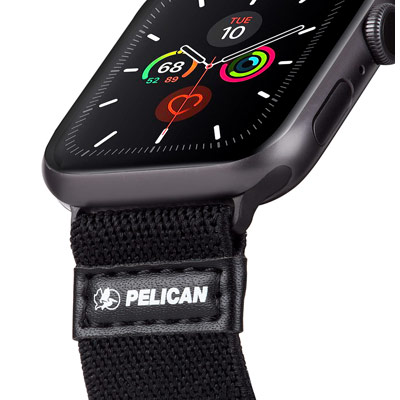 pelican pp043402 protector apple watch band strap black
