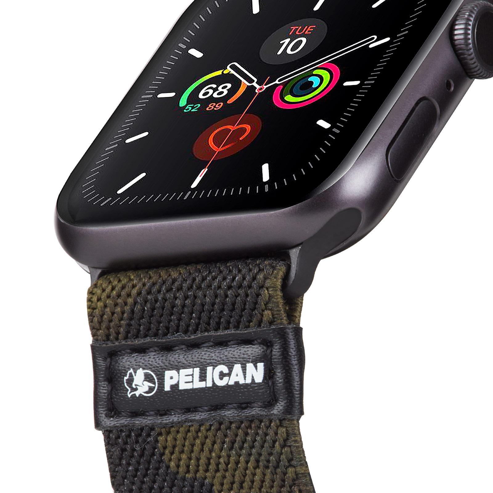 pelican pp043402 protector apple watch band strap camo