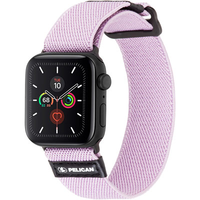 pelican pp043408 protector apple watch band mauve