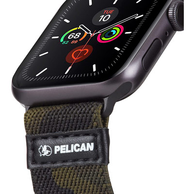 pelican pp043408 protector apple watch band strap camo