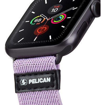 pelican pp043408 protector apple watch band strap mauve