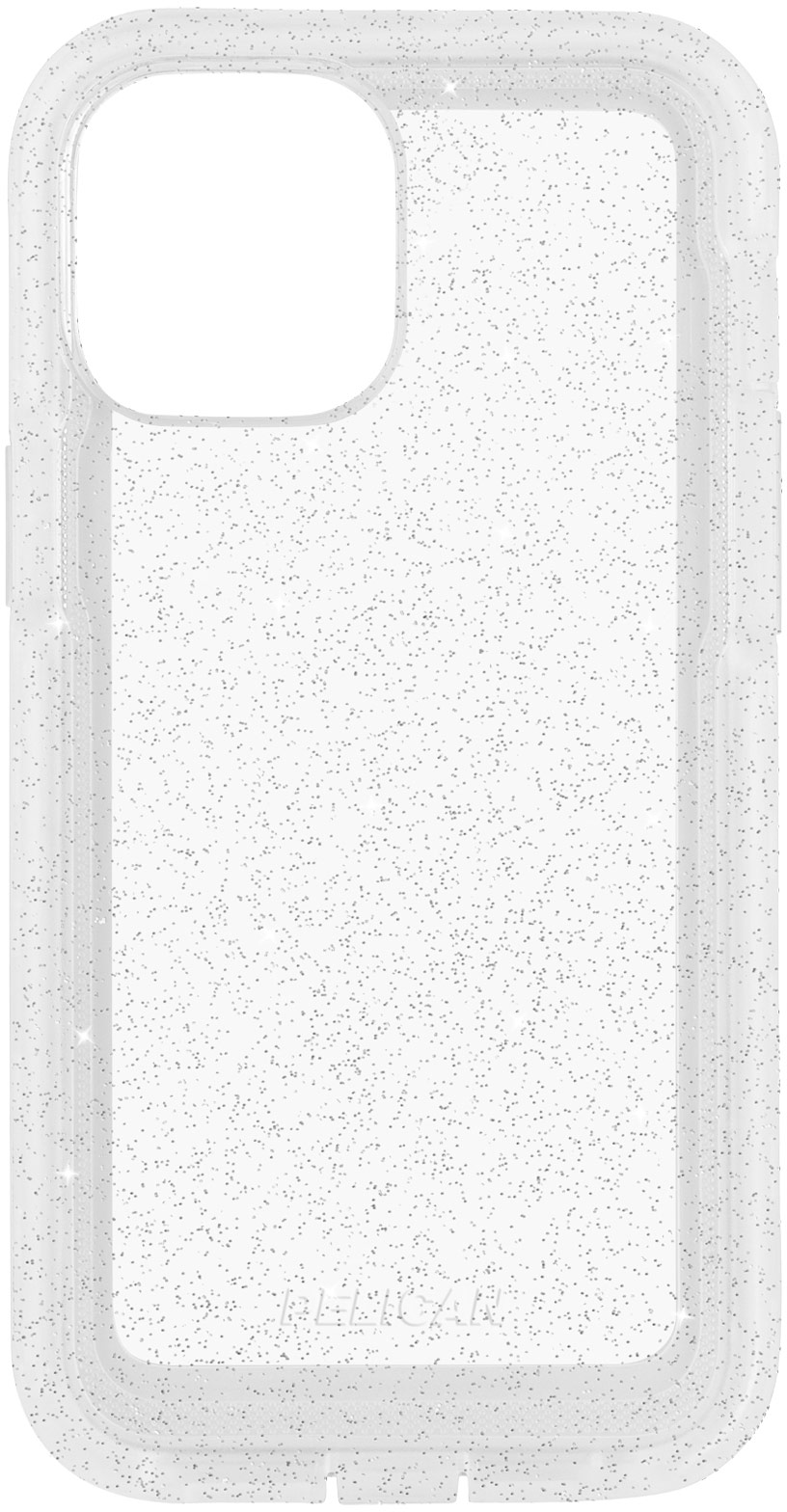 pelican pp043496 clear sparkle iphone 12 pro max case