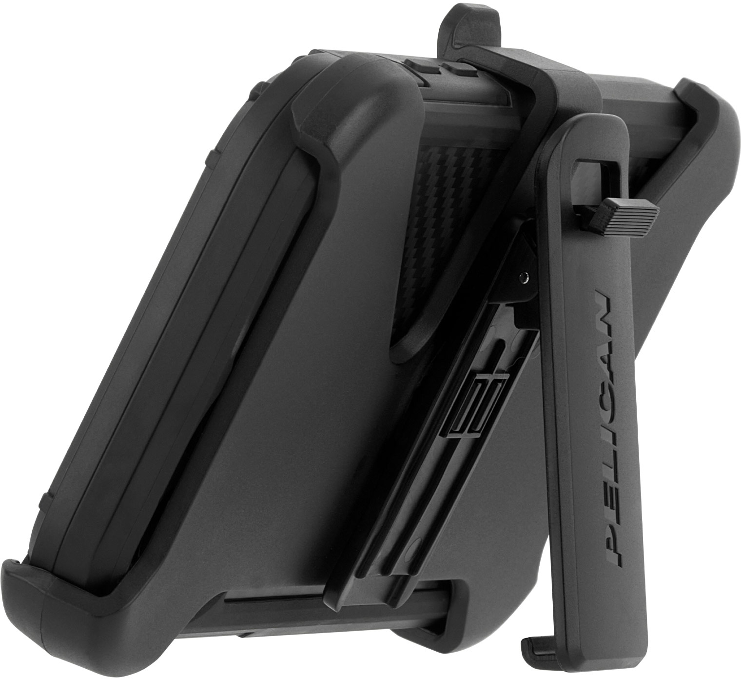 pelican pp043500 shield black kevlar iphone case stand