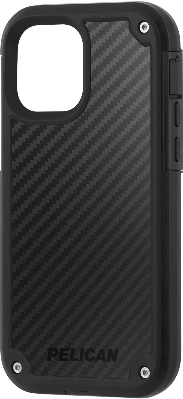 pelican pp043640 black kevlar shield iphone case
