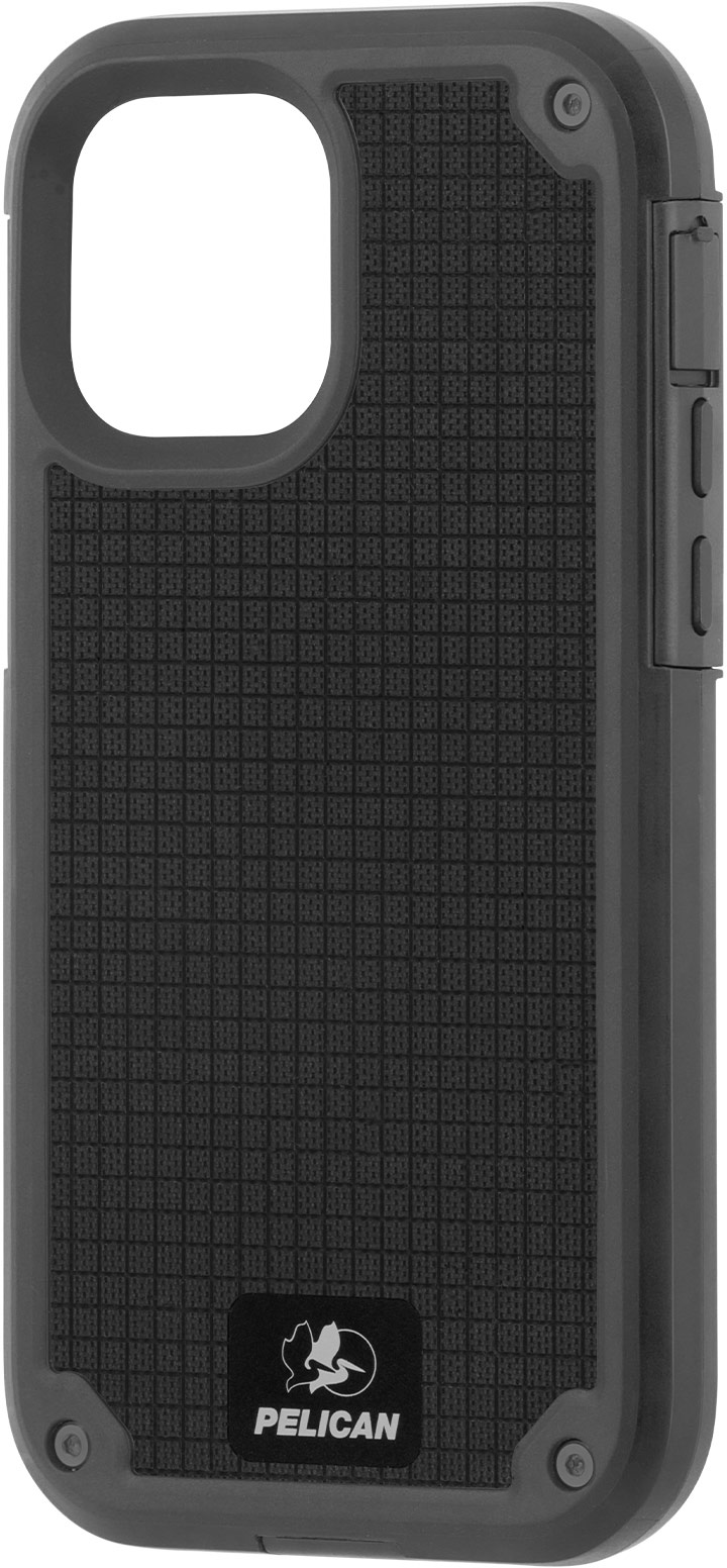pelican pp043690 gray shield g10 iphone 12 max tough phone case