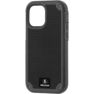 pelican pp043714 gray shield g10 iphone 12 mini tough phone case