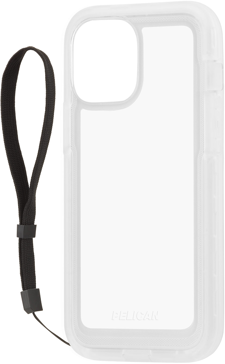 pelican pp043816 marine active clear waterproof iphone case strap