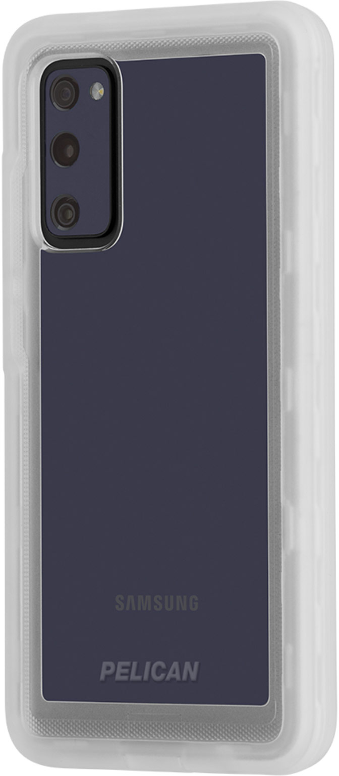 pelican pp044572 voyager clear tough samsung s20 case