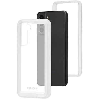pelican pp045170 samsung galaxy s21 5g voyager phone case clear