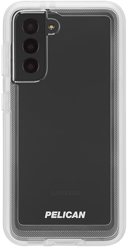 pelican pp045170 samsung galaxy s21 voyager military grade phone case clear