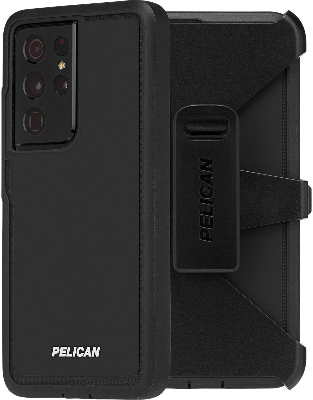 pelican pp045214 samsung galaxy s21 ultra voyager phone case black