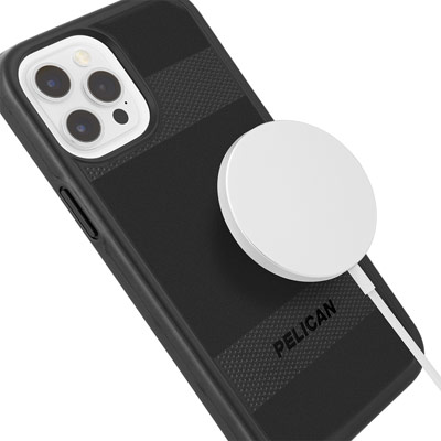pelican pp045418 iphone 12 pro phone case magsafe compatible