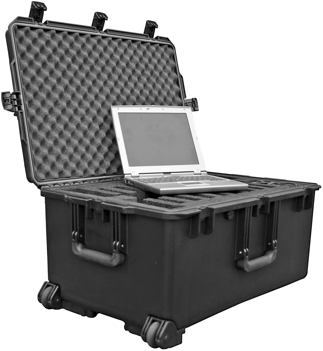 pelican military laptop transport box