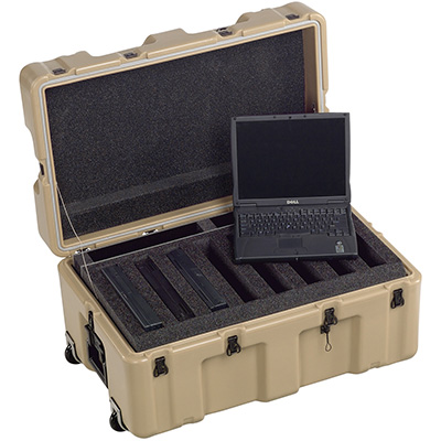 pelican military army laptop plastic case
